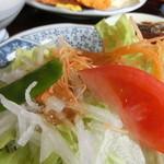 磯料理マルゴ - サラダ 2015.4