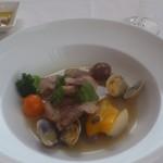リストランテ シルベラード - 魚介のスープ煮