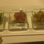 リストランテソットラルコ - 前菜3種
