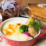 ナチュラル サプリ - 野菜ごろごろグラタン