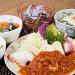 ナチュラル サプリ - 鶏肉のトマトソースかけ(※日替りメニュー)