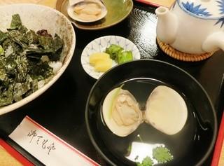 はまぐり食道 - 蛤セット2200円☆