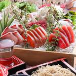 日本蕎麦 一成 - 料理写真:春の会席コース始まりました!
