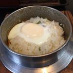 釜蔵 - ランチの山菜釜飯