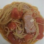 ファットマム - ベーコンとフレッシュトマトのスパゲッティ