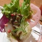 ルイージ - 前菜/帆立とタコのカクテル