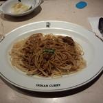 37068766 - インディアンスパゲッティ麺大盛り780円