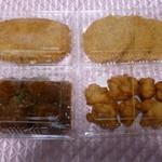 みぃとぼぉる - 料理写真:ミートボール250円鶏のからあげ290円ハムカツ300円柔らかい部位のカツ250円