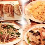 双龍園 - 餃子、チャーハン、レバニラ、八宝菜