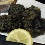 37071443 - 海苔の天ぷら 海苔の風味で酒がすすみます