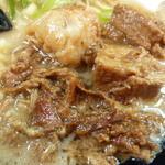 濃厚とんこつ醤油 鶴亀家 - チャーシュー