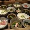 和乃き - 料理写真:小鉢はこの中から一人二品選ぶ