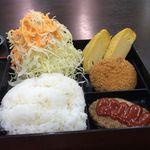 あさチャン - トリプルちょい弁当600円