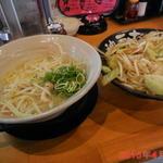 神戸ちぇりー亭 - 北の塩らぁめん \780と野菜盛り(\130)