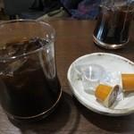 KOUSHI 程々 - サービスのアイスコーヒー