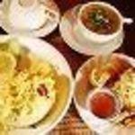 (4)カオパットランチ(タイ風焼き飯ランチ) ドリンク付き