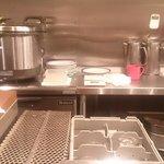 ル・モンド - 厨房