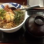 松屋 - ビビン丼(大盛)