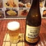 けむっ亭 - 中瓶ビール