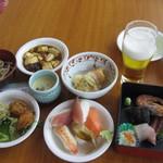 ホテル湯元 - 料理写真:夕食バイキング