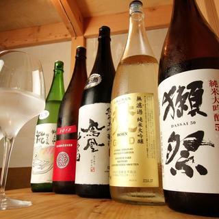 日本酒とよく合う絶品料理を味わいながら、憩いのひとときを