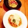 グローブ - 料理写真:糸ひき&きのこペペロンチーノ