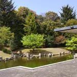 はす庵 - モダンな日本庭園に接しています☆♪