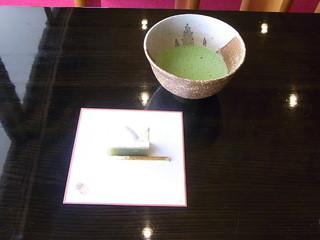 茶室 千里庵 - 季節の和菓子と抹茶セット¥700(税込)☆♪