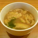 しすい亭 - 味噌汁