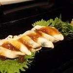 庵梵丹 - 赤穂産牡蠣のポン酢ジュレ(980円)
