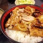串鐵 - きじ丼ともつ煮