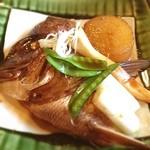 きよ都 - 鯛のかぶと煮定食850円