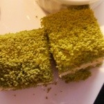 レストラン オーク - 抹茶のプチケーキ
