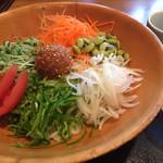 37087789 - 生野菜うどん
