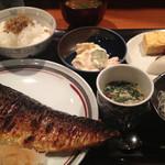 一楽 - 焼き鯖