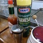 ロード - 2009/10月:昔ながらのナポリタンには粉チーズとタバスコ