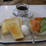 ロード - 2010/2月:朝7時半からのモーニングセット(650円)