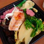 おにぎりの桃太郎 - 料理写真:春のお楽しみ、ちらし寿司です