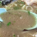 天琴 - 結構こってりなスープですよ〜(^^)