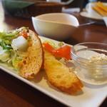 つつじ亭 - 前菜.サラダ