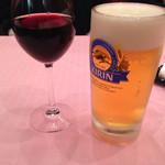 レストラン西櫻亭 - ピノノワールと生ビール Apr/2015