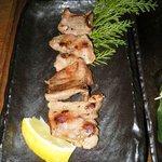 オキドキ - イベリコ豚タン焼き