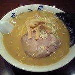 らーめん むつみ屋 - 味噌ラーメン750円