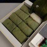 ゐざさ中谷本舗 近鉄奈良店 - 柿の葉寿司 詰め合わせ8個入
