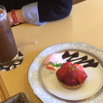 tea room ALICE - 苺タルト