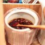 らぁ麺や 汐そば雫 - 香り辣油 '15 2月中旬