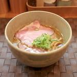 らぁ麺や 汐そば雫 - 汐そば (760円)  '15 2月中旬