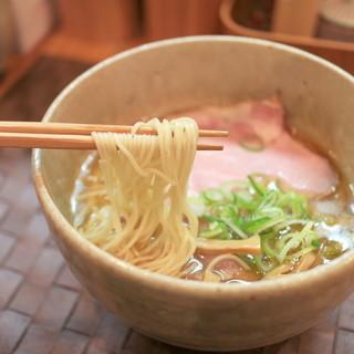 らぁ麺や 汐そば雫 - 料理写真:汐そば (760円)  '15 2月中旬
