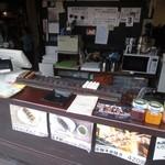 福太郎 - 店内でも食べらます。