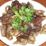 サイゴン - 豚の胃腸炒め (上から)
